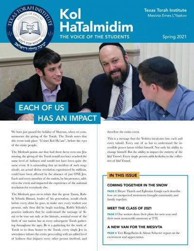 Newsletter June 2021 Page 1